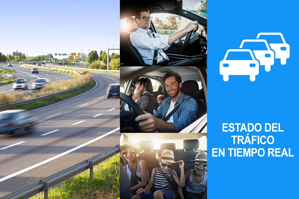 Información ViaMichelin sobre el estado del tráfico: completa y precisa
